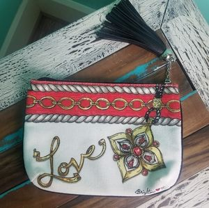 Brighton Love Tassle Cosmetic bag